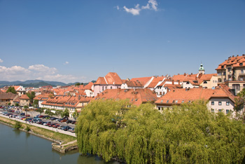 View to the Lend Side of Maribor